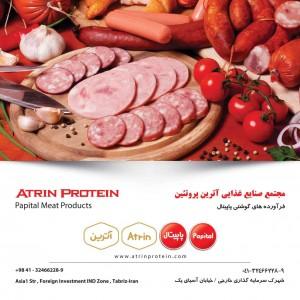 صنايع غذايي آترين پروتئين